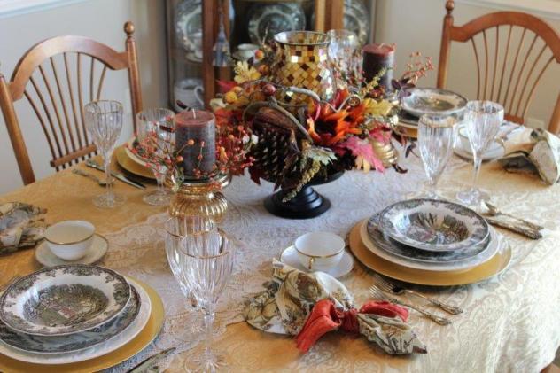 Belle Bleu Interiors Autumn Tablescape 18