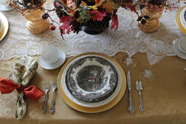 Belle Bleu Interiors Autumn Tablescape 9