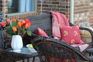Belle Bleu Interiors Fall Back Porch 3