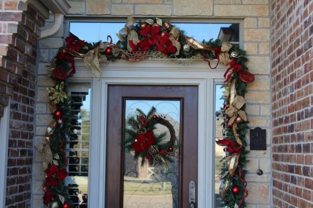 Belle Bleu Interiors Christmas Front Porch 7