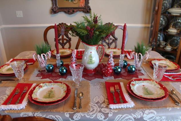 Belle Bleu Interiors Christmas Tablescape Blog Hop 10
