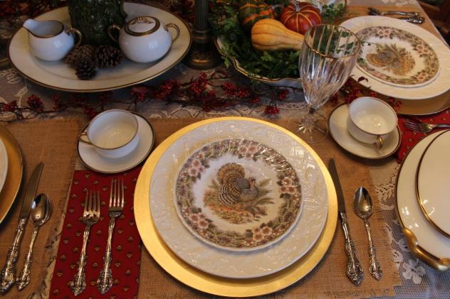 Belle Bleu Interiors Thanksgiving Table 4