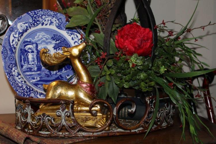 Belle Bleu Interiors Christmas Home Tour 2