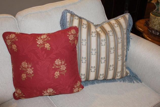 Belle Bleu Interiors Adding Touches of Red 6