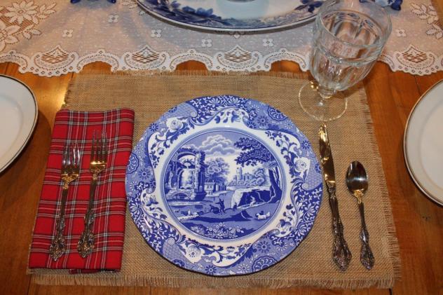 Belle Bleu Interiors Mr. Bleu's Birthday Dinner 8