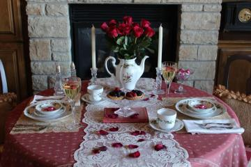 Belle Bleu Interiors Romantic Table for Two 6