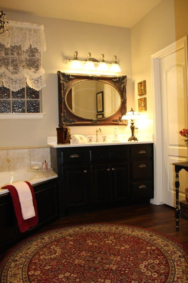 Belle Bleu Interiors French Country Master Bathroom 4