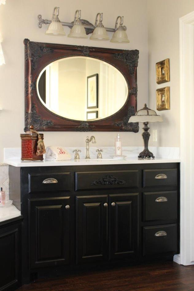 Belle Bleu Interiors French Country Master Bathroom 6