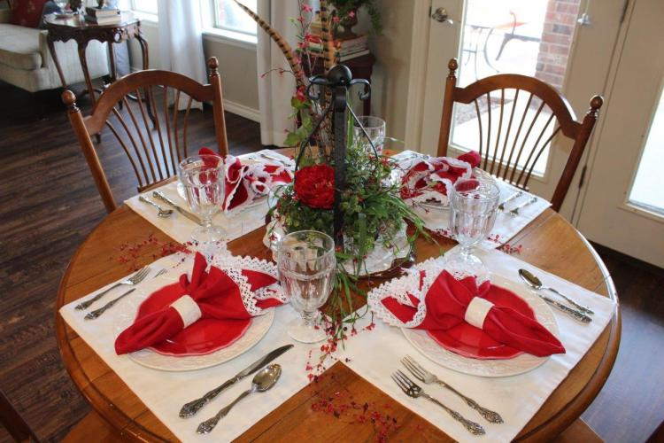 Belle Bleu Interiors Valentine's Table 6
