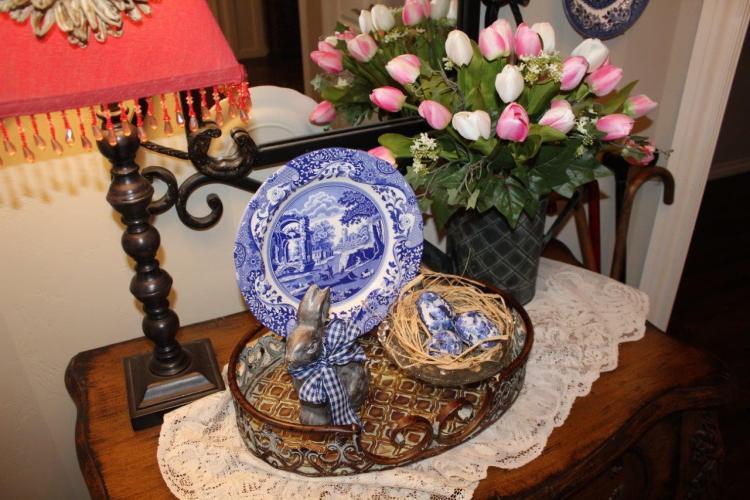 Belle Bleu Interiors Spring Foyer 7