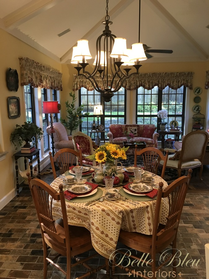 Early Autumn French Country Table