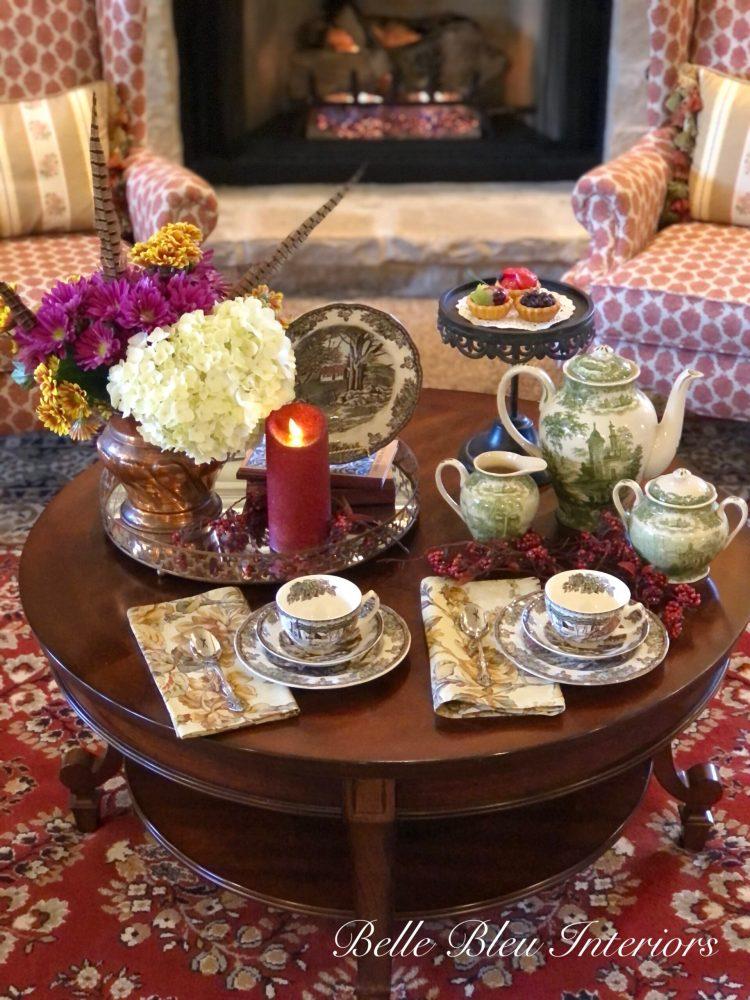 An Autumn Tea