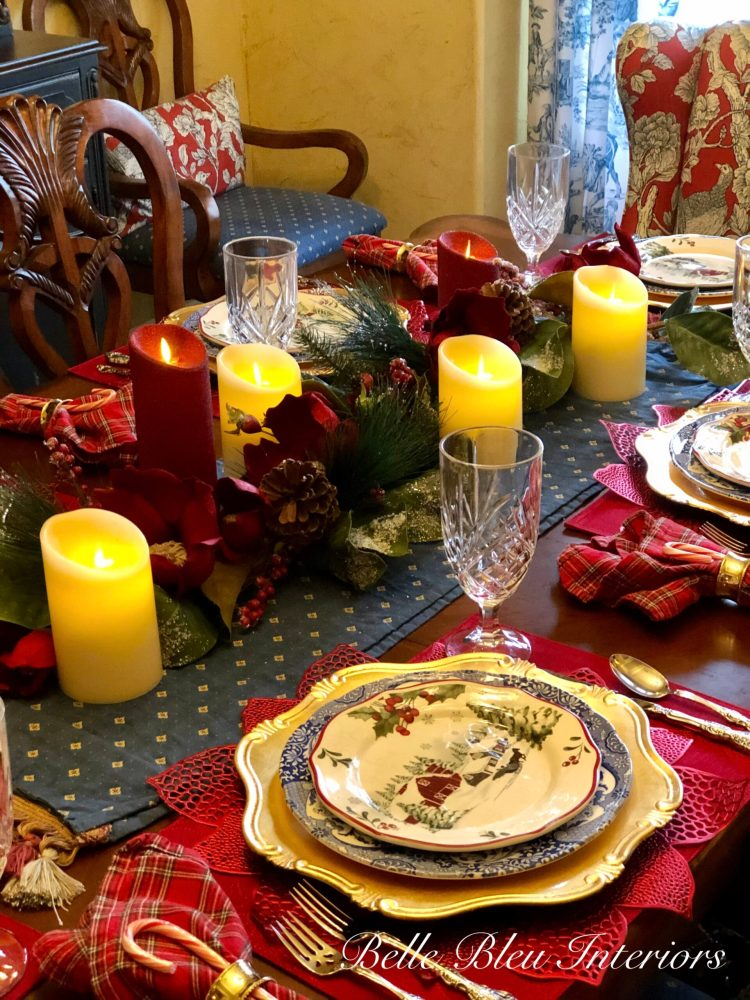 A Merry Christmas Tablescape