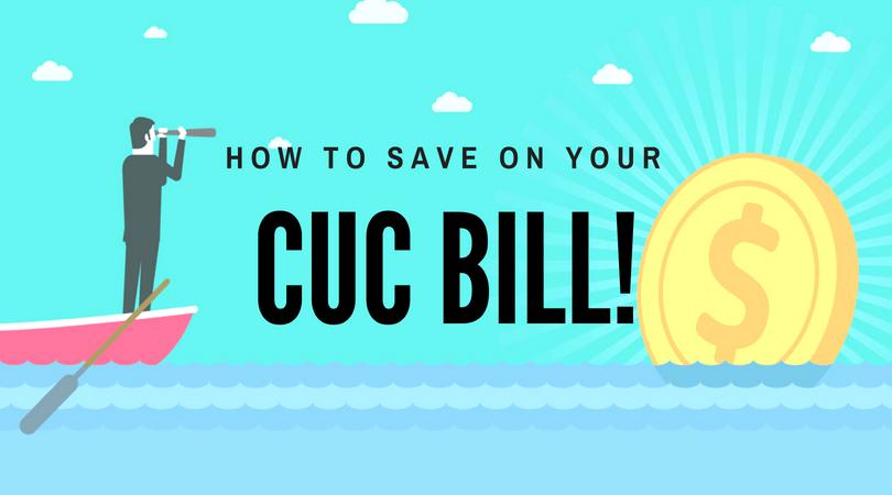 CUC Saving Tips