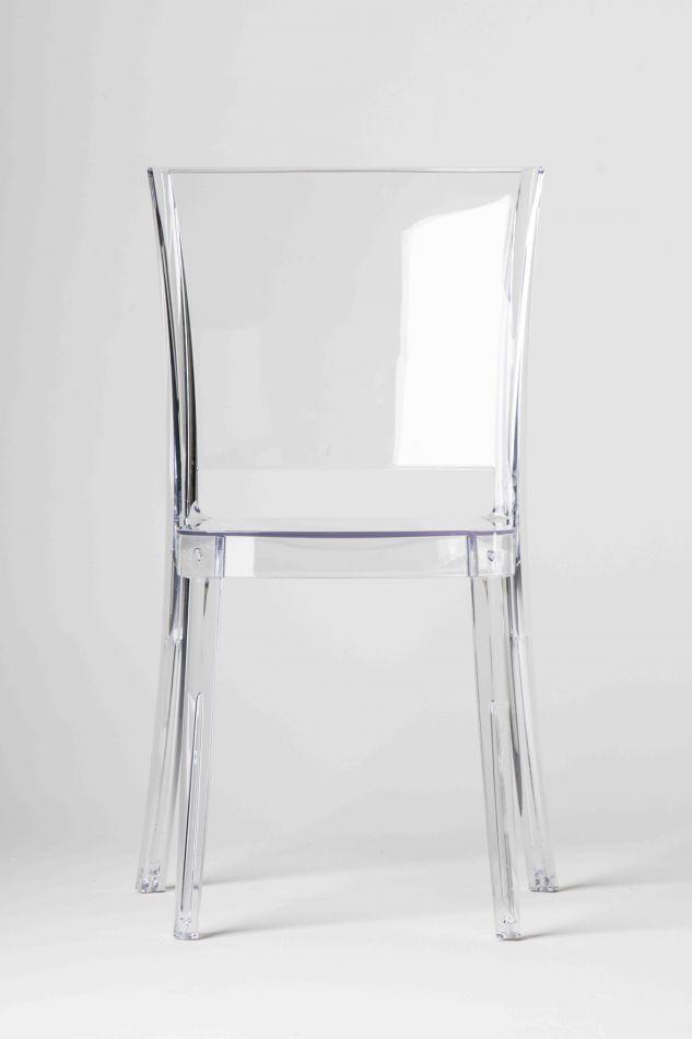 Chaise Transparente Polycarbonate LUCIENNE Neutre