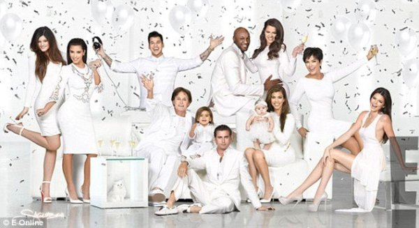 Kardashian Christmas card 2012: Kendall Jenner steals the ...