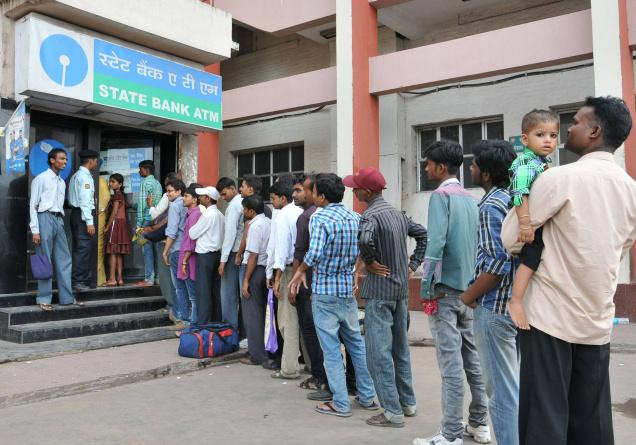 Resultado de imagem para queue bank india