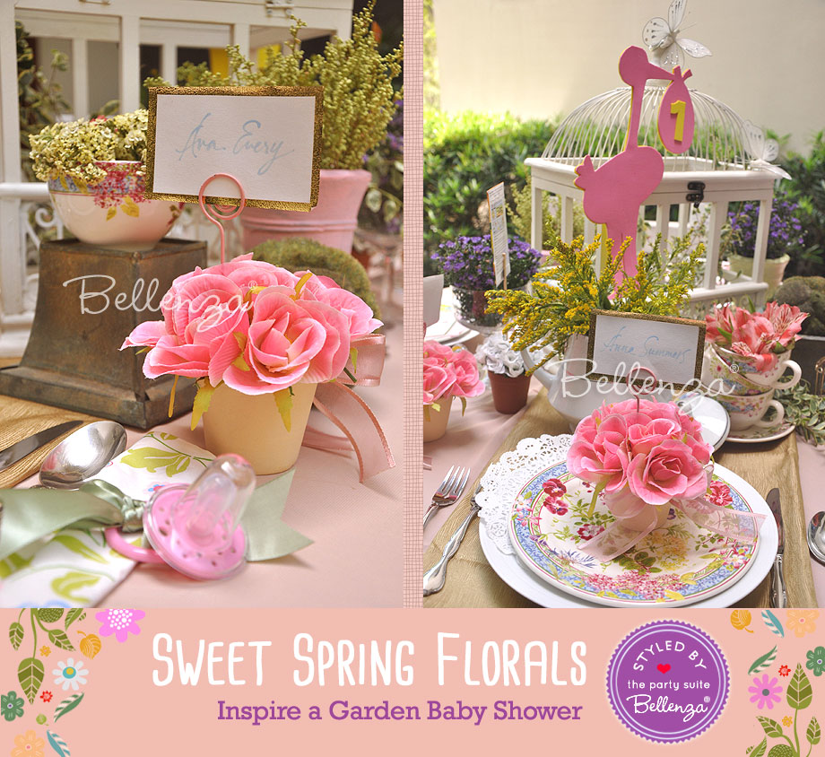 Pink Rose Flower Pots For Guests To Take Home Styled By Bel Za