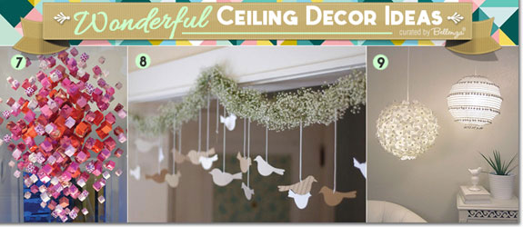 Fun Hangings For Wedding Ceiling With This Idea