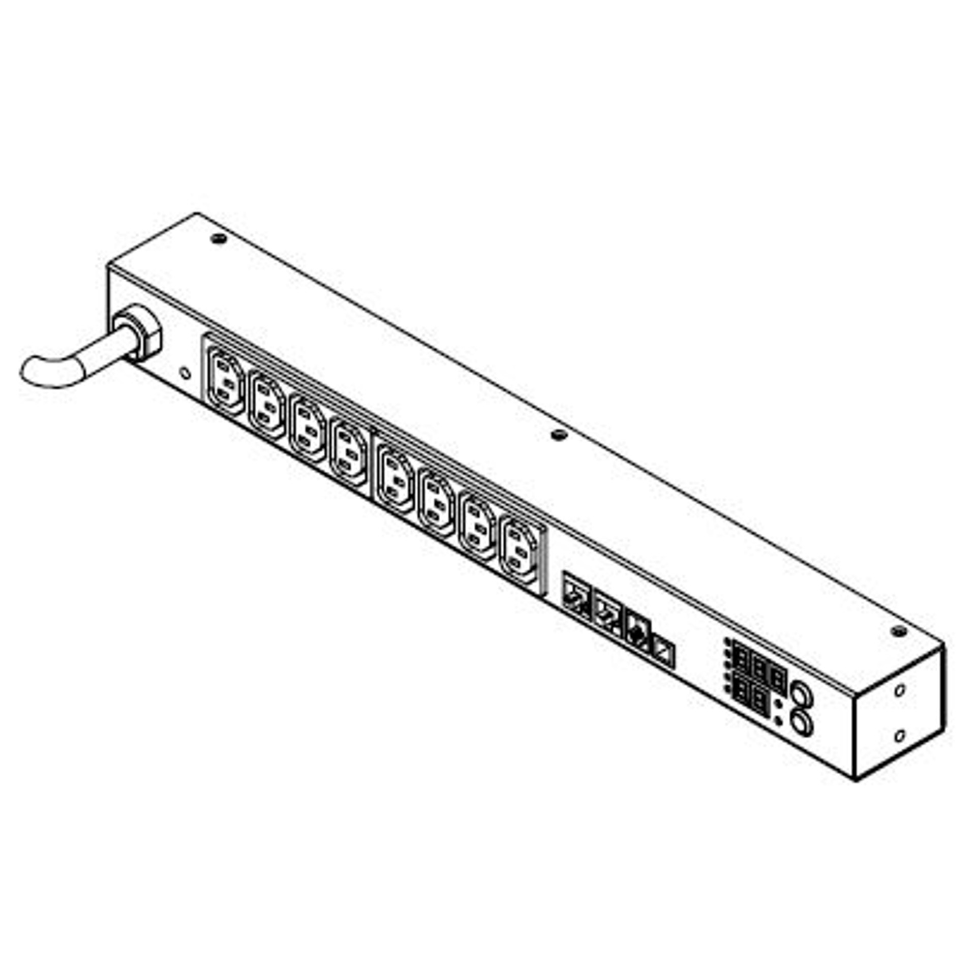 Pxe R Raritan Intelligente 16a Ip Rack Pdu Mit 8