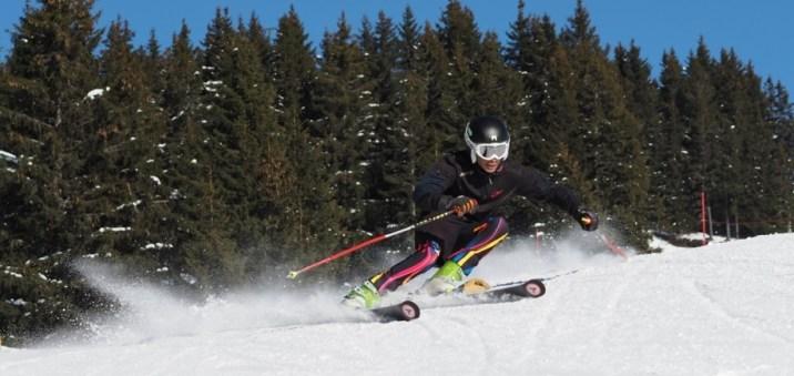Skiing 1 hour from Geneva airport in the Grand Massif resort