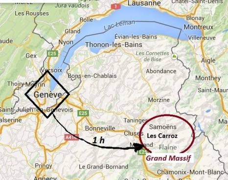1 hour from Geneva