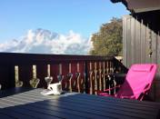 sunchair on the balcony BelleVue
