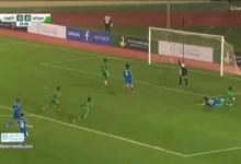 Photo of شباب المرابطون ينهون الشوط الأول بالتقدم على شباب الكويت في البطولة العربية