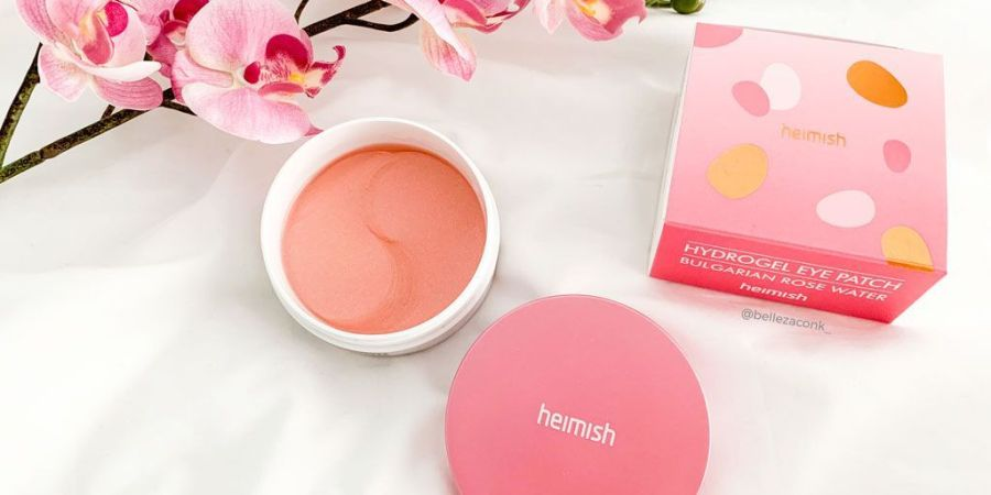 review Heimish Bulgarian Rose Water Hydrogel Eye Patch 1