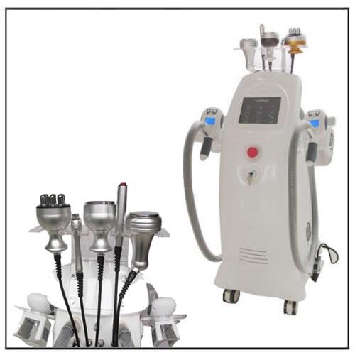 HIFU Cryolipolysis Vacuum Cavitation RF Equipment