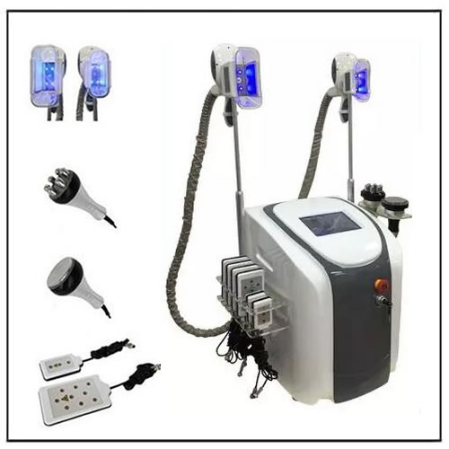 Cavitation RF Lipo Laser Cool Sculpting Cryo Slimming Machine