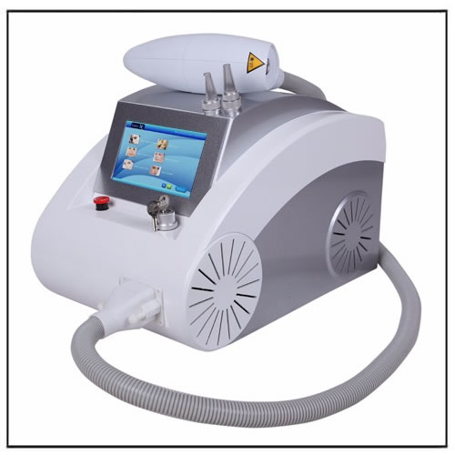 Portable Laser ND Yag Q-switched Tattoo Removal Device