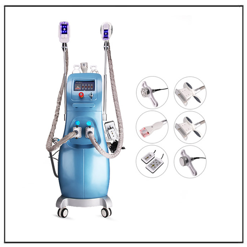 Cavitation RF Laser Cryolipolysis Beauty Salon Equipment