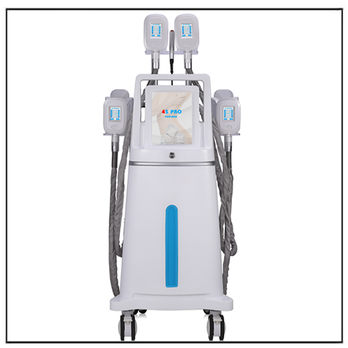 Low Temperature Cavitation RF Vacuum Cryo Fat Freezing Machine