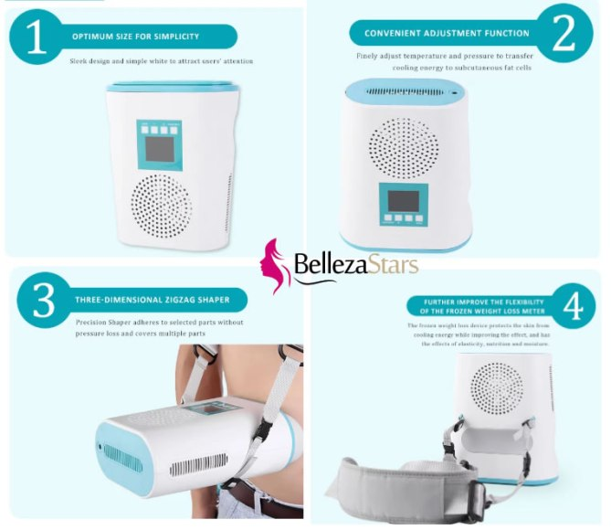 Portable Mini Cryo Fat Freezing Reduction Body Shaping Machine for Home Use