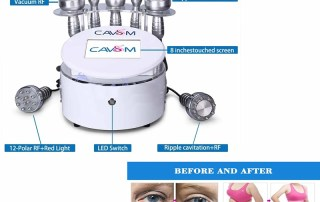 Salon Use Cavitation Slimming Cellulite Reduction Vacuum Machine