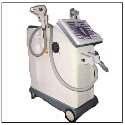 Soprano Alexandrite 2 heads 755nm 808nm Permanent Hair Removal Medical Machine