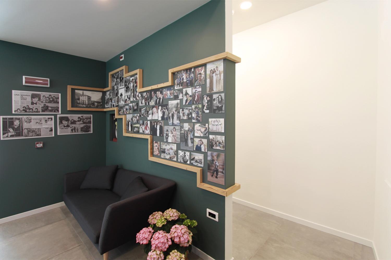 da giorgio - ristorante albergo ardesio: progetto d'interior e design per un nuovo locale adibito a caffè e ristorante ad Ardesio
