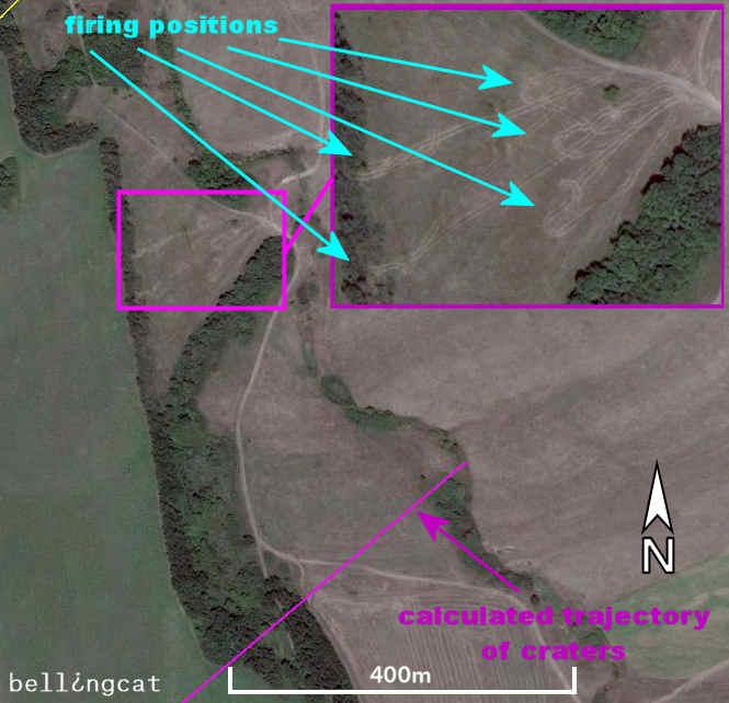 Firing position near Nizhnyaya Kovalevka, Russia
