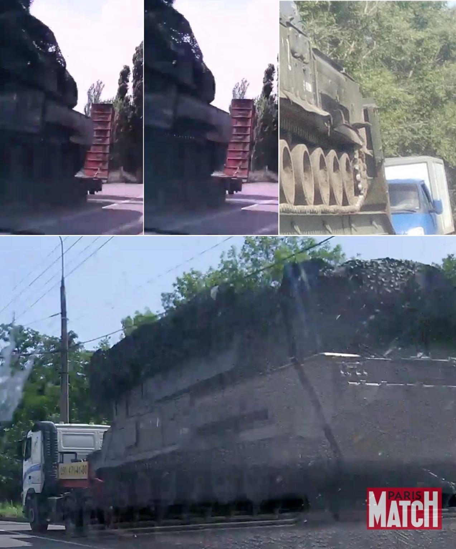 Сравнение особенностей Buk 332 в Макеевке (слева вверху), Алексеевке (справа вверху) и Донецке (внизу)