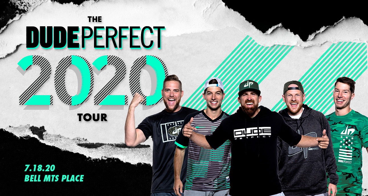 dude perfect cancelled bell mts