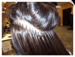 hair extensions by janine howell and cheree duarte