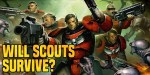 40K: The Death Of Space Marine Scouts