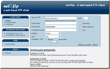 client ftp web gratis