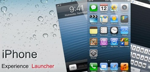 iPhone 5 Launcher