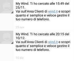 SMS My Wind a Pagamento