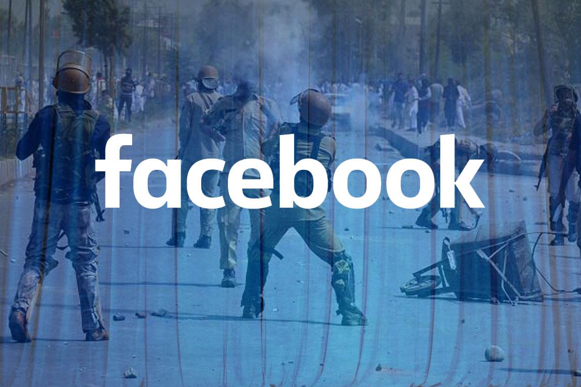 Facebook faces criticism after sensoring, blocking, removing Kashmir related posts