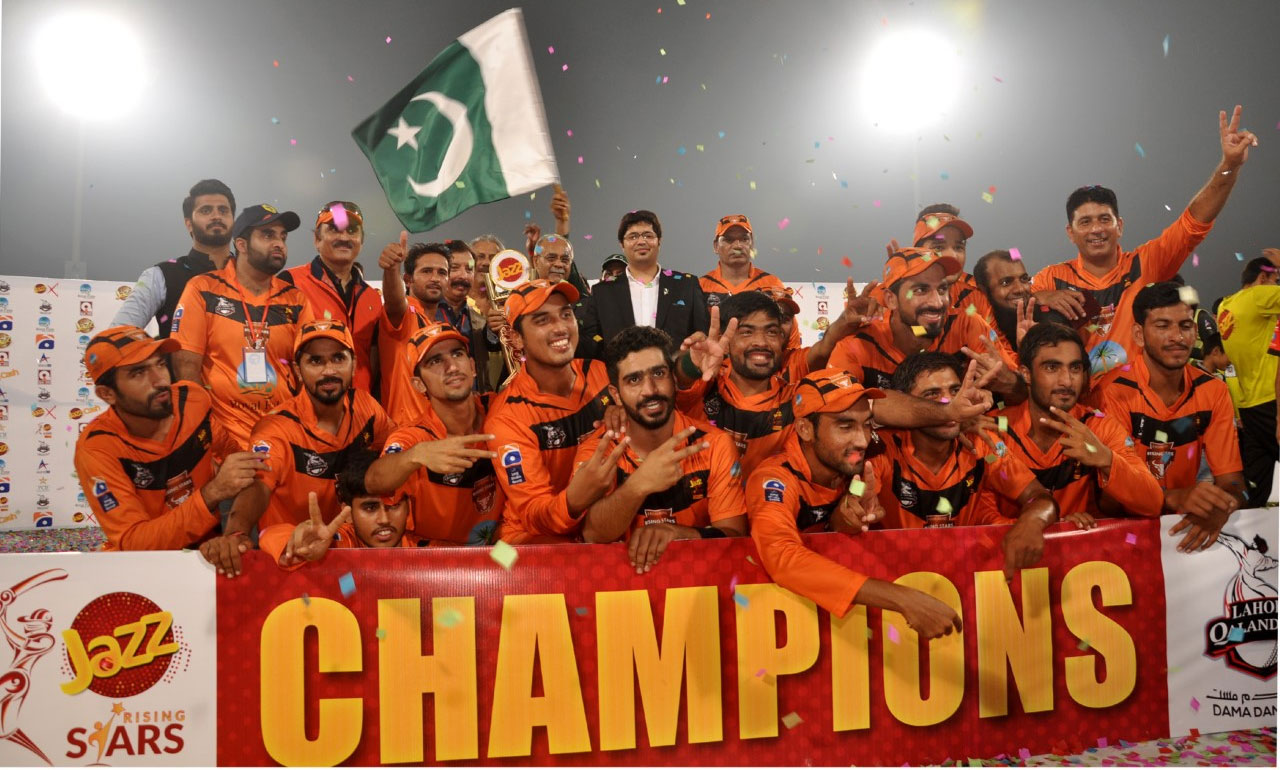 Mobilink's Jazz Rising Stars T20 Cup Concludes a Winner