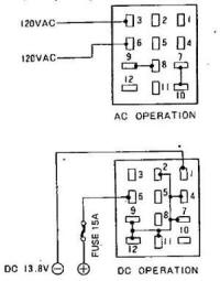 12 pin power cord wiring