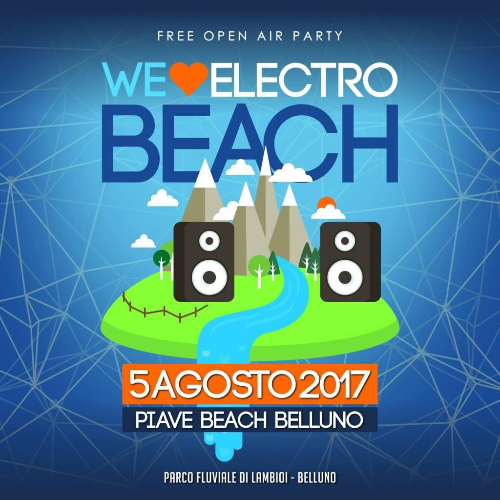 L'Electrobeach torna a Belluno! 5 Agosto